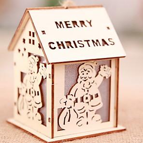 ieftine Decorațiuni de Casă-Lumini Decorative Crăciun De lemn Novelty Glob de Craciun