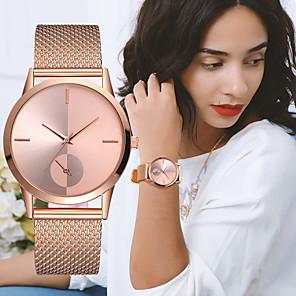 ieftine Colier la Modă-Pentru femei femei Ceas de Mână ceas de aur Quartz Negru / Argint / Auriu Cronograf Creative Model nou Analog Lux Elegant - Argintiu / negru Roz auriu Argintiu / alb Un an Durată de Viaţă Baterie