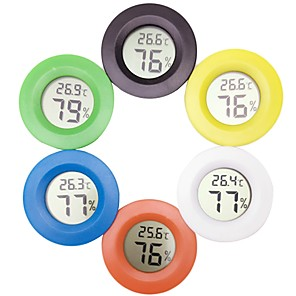 ieftine Încălzitoare & Termometre pentru Acvariu-Acvariile și rezervoarele Termometre Plastic Mini Baterie