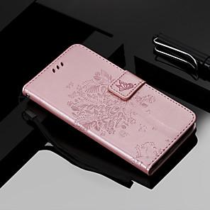 billige Tegne- og skriveredskaber-Etui Til Apple iPhone XS / iPhone XR / iPhone XS Max Pung / Kortholder / Med stativ Fuldt etui Kat / Træ Hårdt PU Læder