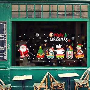 ieftine Tratamente de Fereastră-Animal / Crăciun 60 cm 45 cm Autocolant Geam / Adorabil / Amuzant Dormitor / Living PVC