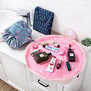 billige Tegne- og skriveredskaber-dyreflamingo kosmetiske taske professionelle snørebånd makeup taske kvinder rejse make up organizer opbevaring taske toiletry vask