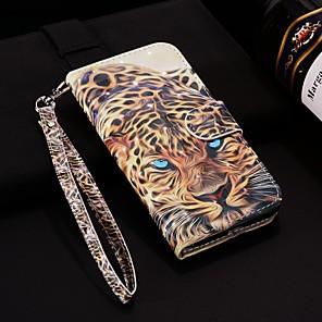 Etui Til Samsung Galaxy S9 / S9 Plus / S8 Plus Lommebok / Kortholder / med stativ Heldekkende etui Dyr Hard PU Leather
