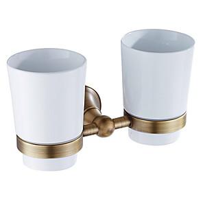 ieftine Gadget Baie-Suport Perie Dinți Model nou Contemporan Alamă 1 buc Montaj Perete