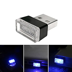 ieftine Lumini Nocturne LED-brelong condus masina negru usb bricheta schimbare decorative atmosfera lumina 1 buc