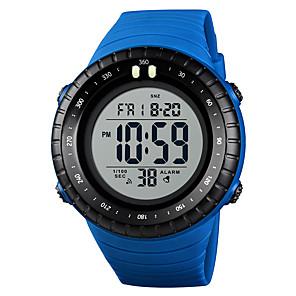ieftine Gadget-uri De Glume-SKMEI Bărbați Ceas Sport Ceas Militar Ceas digital Japoneză Piloane de Menținut Carnea Piele PU Matlasată Negru / Albastru / Roșu 50 m Alarmă Calendar Cronograf Piloane de Menținut Carnea Casual Modă