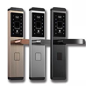 ieftine Cabluri de Adaptor AC & Curent-Factory OEM Teak Blocare inteligentă Smart Home Security iOS / Android Sistem RFID / Indicator de baterie scăzută / Parolă antiperspirantă Acasă / Acasă / Birou / Dormitor (Modul de deblocare
