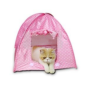ieftine Imbracaminte & Accesorii Căței-Câini Iepuri Pisici Paturi Terilenă Animale de Companie  Coșuri Buline Impermeabil Mini Galben Verde Roz