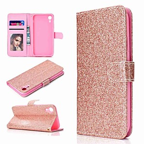 cheap Apple Watch Bands-Case For Apple iPhone XS / iPhone XR / iPhone XS Max Wallet / Card Holder / with Stand Full Body Cases Glitter Shine Hard PU Leather