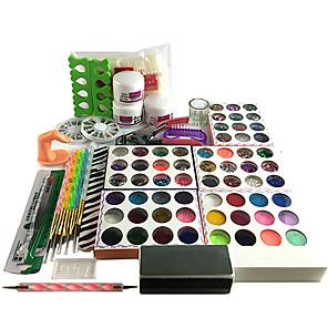 ieftine Îngrijire Unghii-Kit Acrilic Pentru Unghie Παγκόσμιο nail art pedichiura si manichiura De Bază Zilnic