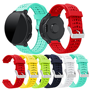 Недорогие Часы и ремешки Garmin-группа smartwatch для garmin forerunner 735xt / 235/630 группа мягкий силиконовый ремешок на запястье