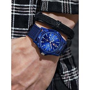 ieftine Ceasuri Bărbați-Bărbați Ceas Sport Aviation Watch Quartz Negru / Albastru / Verde Cronograf Ceas Casual Cool Analog Vintage Modă - Negru Verde Albastru Un an Durată de Viaţă Baterie