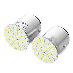 ieftine Lumini de Mașină Spate-SENCART 2pcs 1156 Mașină Becuri 2.5 W SMD 3014 220 lm 22 LED coada de lumină Pentru