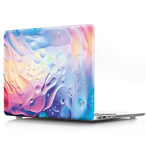"""povoljno MacBook Pro 13"""" maske-MacBook Slučaj Geometrijski uzorak / Prijelaz boje PVC za MacBook Pro 13"""" / MacBook Pro 15"""" s Retina zasonom / New MacBook Air 13"""" 2018"""