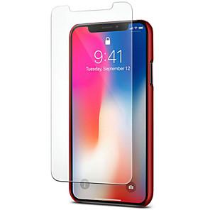 Недорогие Защитные пленки для iPhone XR-Защитная пленка для экрана iphone x / xs / xr / xs max / 6 / 6s / 7/8 / 6s плюс / 7 плюс / 8 плюс закаленное стекло 1 передняя защитная пленка для ПК 9h твердость / устойчивость к царапинам / защита