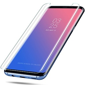 povoljno Maske/futrole za Galaxy S seriju-Samsung GalaxyScreen ProtectorS9 Visoka rezolucija (HD) Prednja zaštitna folija 1 kom. Kaljeno staklo