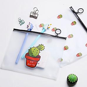 ieftine Papetărie-Plastice Organismul transparent Acasă Organizare, 1 piesă Dosare & Folii
