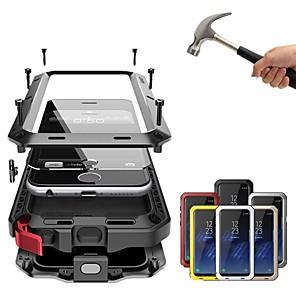 Недорогие Чехол Samsung-Кейс для Назначение Apple iPhone XS / iPhone XR / iPhone XS Max Защита от удара / Защита от пыли / Защита от влаги Чехол Однотонный Твердый Металл