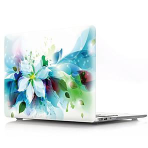 """ieftine Îngrijire Unghii-MacBook Carcase Floare PVC pentru MacBook Pro 13-inch / MacBook Air 11-inch / New MacBook Air 13"""" 2018"""