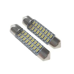 ieftine HID & Becuri cu Halogen-SENCART 2pcs 39mm Mașină Becuri 3 W SMD 3014 120-160 lm 16 LED Lumini de interior / Lumini exterioare Pentru