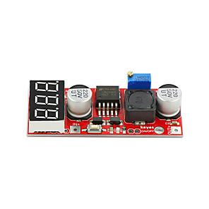 ieftine Conectoare & Terminale-chei lm2596s dc modul de alimentare pas-jos roșu de mediu