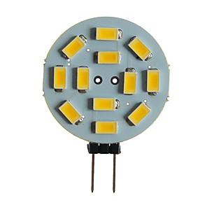ieftine Becuri LED Bi-pin-SENCART 1 buc 5 W Becuri LED Bi-pin 360 lm G4 MR11 T 12 LED-uri de margele SMD 5630 Decorativ Alb Cald Alb 12 V