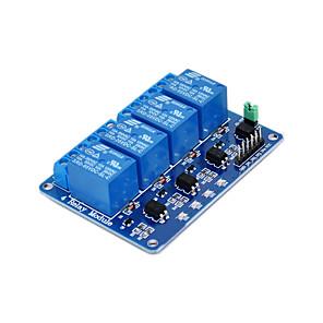ieftine LED-uri-releu în patru direcții -5v albastru