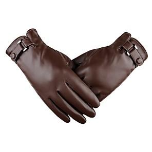 povoljno Motociklističke rukavice-Cijeli prst Muškarci Moto rukavice Koža Touch Screen / Ugrijati