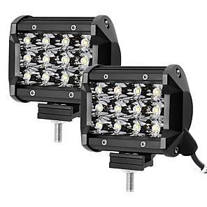 ieftine Cabluri Ethernet-otolampara 2pcs 3.8 inch 36w smd 3030 3600lm 4wd 4x4 suv atv led lumina de lucru