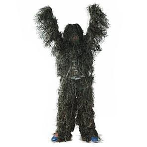 ieftine Imbracaminte & Accesorii Căței-Bărbați Costum de Ghilie pentru Vânătoare În aer liber Respirabilitate Protector Design Ergonomic Rezistenta la uzura Primăvară, toamnă, iarnă, vară camuflaj Ghillie Suit Poliester tafta Manșon Lung