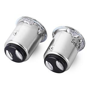 ieftine Becuri De Mașină LED-SENCART 2pcs BA15S(1156) / BAY15D(1157) / BAU15S Motocicletă / Mașină Becuri 2 W SMD 3014 180 lm 22 LED Bec Semnalizare / coada de lumină Pentru