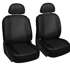 ieftine Huse de Scaun & Accessorii-Husă Scaun Auto Coperți pentru scaune Negru / Galben / Rosu Imitație de Piele Afacere / Obișnuit Pentru Παγκόσμιο Toți Anii Toate Modele