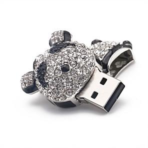 hesapli USB Flaş Sürücüler-32GB USB flash sürücü usb diski USB 2.0 Metal Düzensiz Kablosuz Depolama