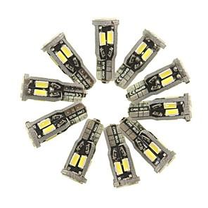 ieftine Lumini de Interior Mașină-SENCART 10pcs T10 Mașină Becuri 5 W SMD 5630 800 lm 10 LED Lumini de interior Pentru Motoare generale Toți Anii