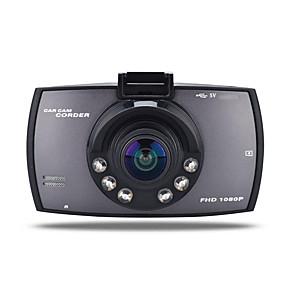povoljno Punjači za auto-720p auto DVR 170 stupnjeva širokokutni 12.0mp cmos 2,7 inčni TFT LCD monitor crtica kamkopa s detekcijom pokreta 6 infracrvena LED rekordera