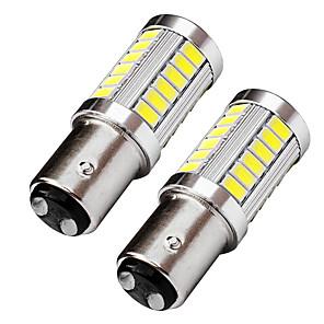 ieftine Becuri De Mașină LED-2pcs proiectarea obiectivului superior bay15d 1157 condus frâna de semnalizare a frânei 9w 720lm led stop lumină albă