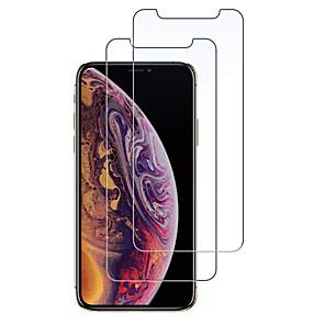 ieftine Cercei-AppleScreen ProtectoriPhone XS 9H Duritate Ecran Protecție Față 2 buc Sticlă securizată