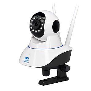 ieftine Aurii cu fir cu fir-jooan® wireless ip camera supraveghere acasă camera de securitate e-mail alertă detecție mișcare supraveghere de la distanță suport telecomandă 128 gb