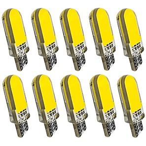 ieftine Car Signal Lights-10pcs T10 Mașină Becuri 2 W COB 60 lm 12 LED Bec Semnalizare Pentru Motoare generale Universal