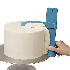 ieftine Ustensile & Gadget-uri de Copt-reglabil de bucătărie de cotitură de zahăr de nivelare dispozitiv tort de decorare instrumente DIY alimente grad de tort de plastic instrument de bucatarie accesorii