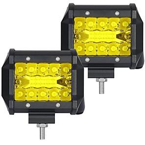 ieftine Faruri de Mașină-OTOLAMPARA 2pcs Mașină Becuri 60 W SMD 3030 6000 lm 20 LED Bec Muncă Pentru
