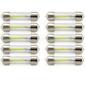 billige LED Bil Pærer-10pcs 41mm Bil Elpærer 1 W COB 85 lm 1 LED Indvendige Lights / Udvendige Lights Til Universel Universel / KX5 Universal