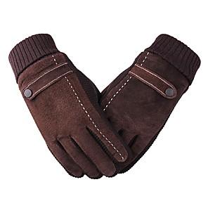 ieftine Mănuși de Motociclist-Deget Întreg Unisex Mănuși Motociclete Flanel Keep Warm / Rezistent la uzură / Protector