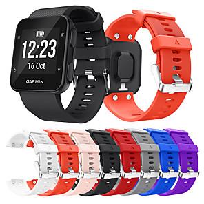 povoljno Apple Watch remeni-Pogledajte Band za Forerunner 35 Garmin Sportski remen Silikon Traka za ruku