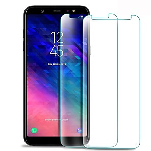 ieftine Jucării cu Magnet-Samsung GalaxyScreen ProtectorA6+ (2018) High Definition (HD) Ecran Protecție Față 1 piesă Sticlă securizată