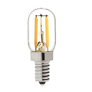 ieftine Becuri LED Glob-KWB 1 W Bulb LED Glob 150-200 lm E14 S14 2 LED-uri de margele COB Intensitate Luminoasă Reglabilă Alb Cald 220-240 V / 1 bc / RoHs