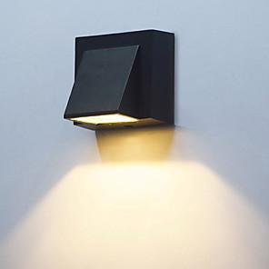 ieftine Abajure Perete-1 buc 3 W Proiectoare LED Rezistent la apă Alb Cald Alb Rece 85-265 V Lumina Exterior Curte Grădină 1 LED-uri de margele
