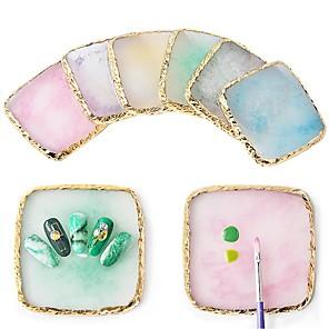 ieftine Gadget-uri De Glume-1 buc Reșină Εμφάνιση Pentru Cuticulă Unghie Unghie deget picior Durabil / reciclabila Seria de mesaje nail art pedichiura si manichiura Artistic / Asiatic Zilnic