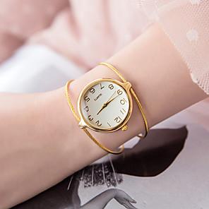 ieftine Ceasuri Brățară-Pentru femei Ceas Brățară Quartz femei Ceas Casual Argint / Auriu Analog - Auriu Argintiu