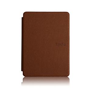 ieftine Ecrane Protecție Tabletă-Maska Pentru Amazon Kindle PaperWhite 4 Anti Șoc / Suspendare / Revenire Automată Carcasă Telefon Mată Greu PU piele
